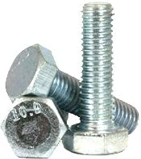 M8 x 40 MM Dresselhaus Hexagonal Screws 8.8 with Thread up to Head DIN EN ISO 4017 933 zinc galvanised Pack of 100