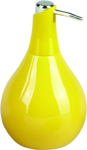 Sanwood Seifenspender COPPALINO 450 ml gelb aus Keramik - passend zu Sanwood Coppa