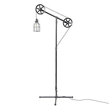 West Ninth Vintage Industrial Floor Lamp
