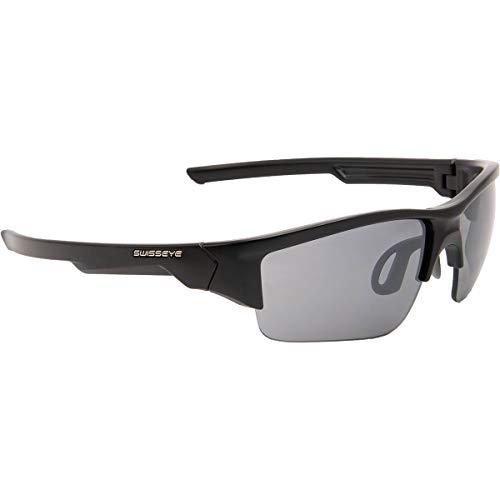 Swiss Eye Secret - Gafas de ciclismo, color negro mate y ahumado