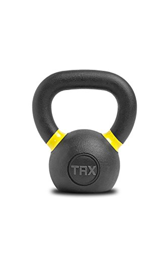 TRX Training Kettlebell, Gravity Cast with Comfortable Ergo Handle, 12kg
