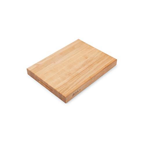 John Boos Block RA02 Maple Wood Edge Grain Reversible Cutting Board, 20 Inches x 15 Inches x 2.25 Inches
