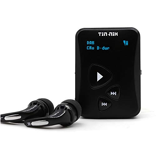 Tin-Nik DAB-398S Personal Portable DAB/DAB/FM Radio, Pocket Digital RDS FM...