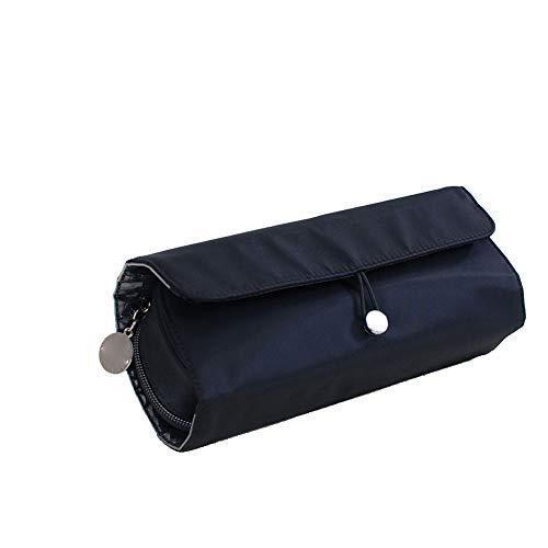 Cas Cosmétique Portable Roll Up Pinceau De Maquillage Organisateur Voyage Multi Holder Fonctionnel Esthétique Pour Les Femmes Filles (1pc)
