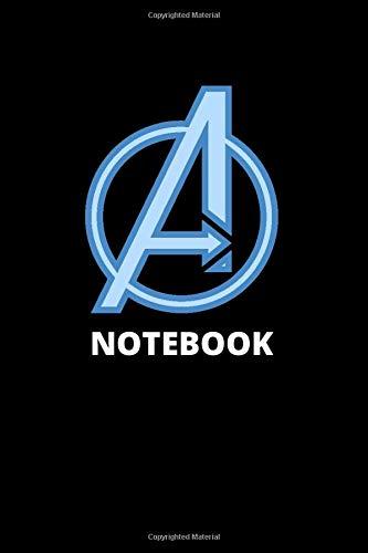 Notebook: Avengers Logo Marvel Avengers Superhero Movie Notebook Journal (Pop Culture, Band 140)