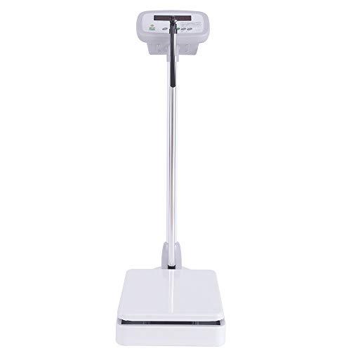 Instrumento electrónico de medición de la Altura y la báscula de pesaje, Examen físico de jardín de Infantes para niños, Gimnasio para Adultos, salón de Belleza, báscula para Adelgazar