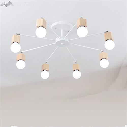 5151BuyWorld plafondlamp voor de Vendimia, hoge kwaliteit, meervoudig dak, stang van smeedijzer, E27
