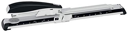Petrus 623381 - Grapadora de Gruesos y Especiales Brazo Largo Modelo 600 Color Gris/Negro