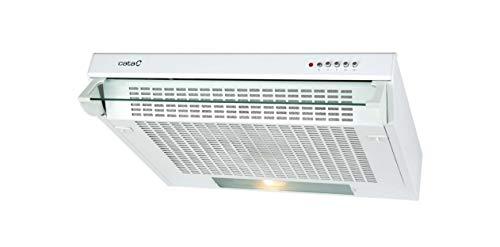 CATA F 2260 WH 300 m³/h Encastrada Blanco D - Campana (300 m³/h, Canalizado/Recirculación, E, E, D, 69 dB)