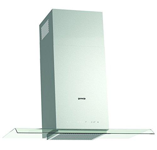 Gorenje WHGC 963 A1X Kamin-Dunstabzugshaube/61,8 kWh/jahr/90 cm/SmartCurve/LED Beleuchtung/PowerBoost/Anti-Fingerprint-Beschichtung/edelstahl