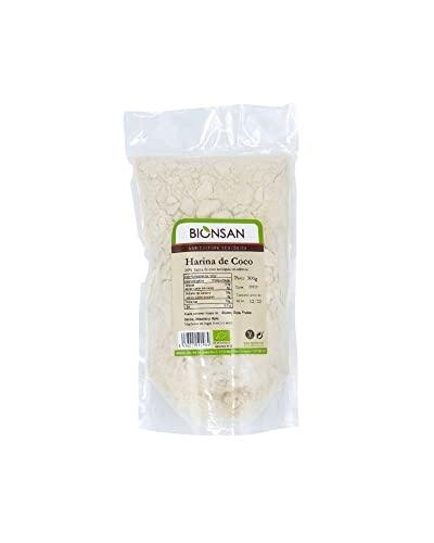 Bionsan Harina de Coco Ecológica| 3 Paquetes de 500 gr