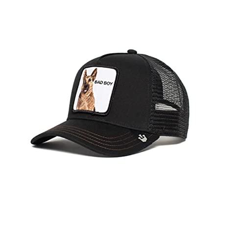 Goorin Brothers Animal Farm Snap Back Trucker Hat Black Bouncer One Size