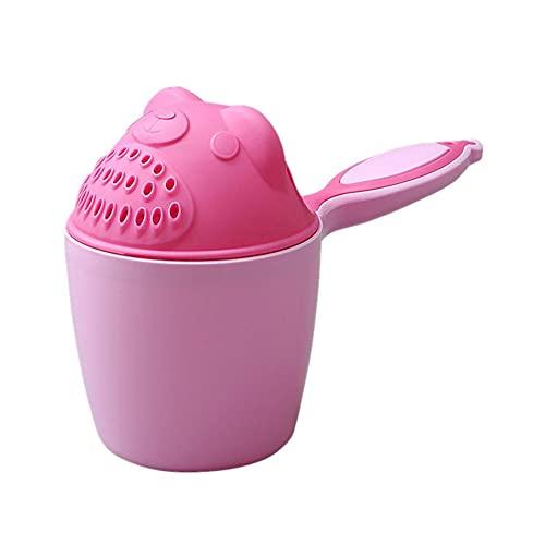Ruankenshop Copa De Champú para Osos Taza De Champú De Ducha Taza De Champú Osito Bebé Taza De Champú BañEra Shnuggle para NiñOs&BebéS Pink
