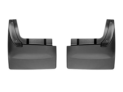 WeatherTech 120081 - Digital fit Black Mud Flaps