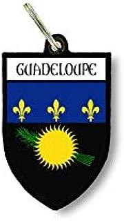 Porte cles clefs cle Drapeau Collection Ville Blason Guadeloupe gwada