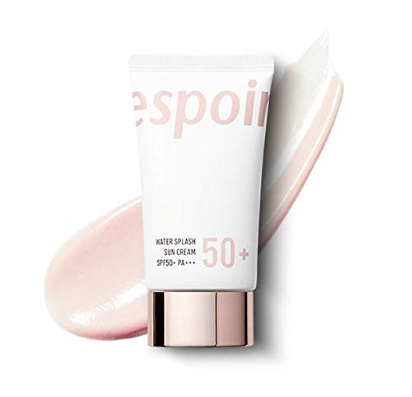 コンピューター考古学者ヒップeSpoir Water Splash Sun Cream SPF50+PA+++ (R) / エスポワール ウォータースプラッシュ サンクリーム 60ml [並行輸入品]