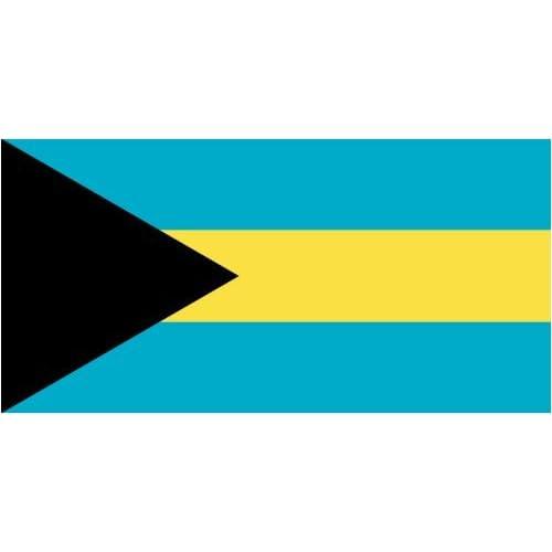 Handmade Bahamian Flag Wood Art