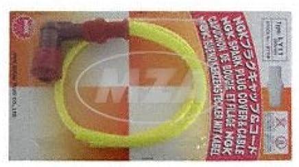 Set Bujías NGK Racing – con de alto rendimiento de color amarillo silicona Cable de encendido