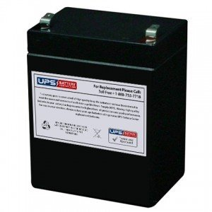 PBQ 2.9-12 - 12V 2.9Ah Sealed Lead Acid Replacement Battery