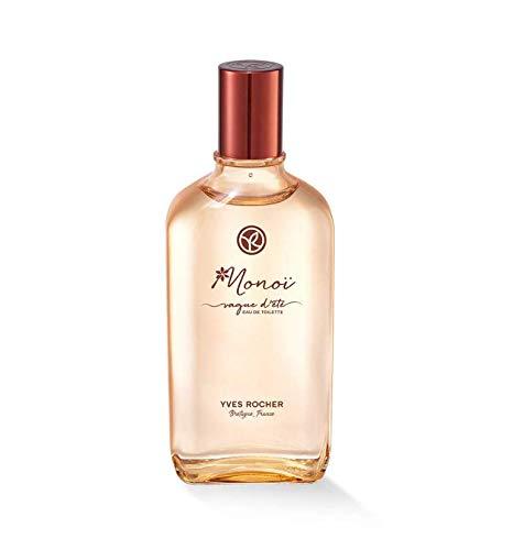 Yves Rocher - Colonia Monoï Vague D'été Eau de Toilette, aroma exótico veraniego para mujeres, 1 vaporizador de 100 ml