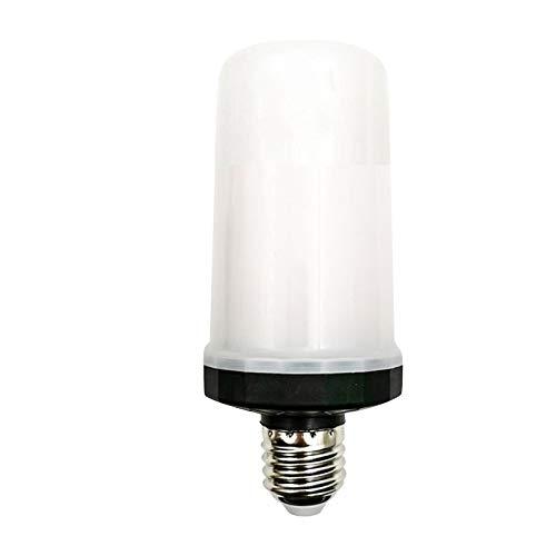 Bombilla de luz de Vela Parpadeante - IP65 E27 Bombilla para Jardín Parque Patio Césped y Camino