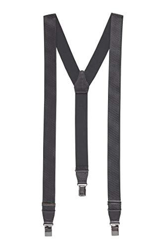 BOSS Herren Bratino Elastische Hosenträger mit Lederbesatz