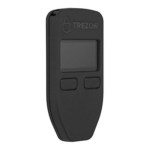 Trezor - Kryptowährung Hardware-Wallet sichere Aufbewahrung von Bitcoin, Ethereum (alle ERC20 Token) und viele andere Altcoins + Bonus Frisbee