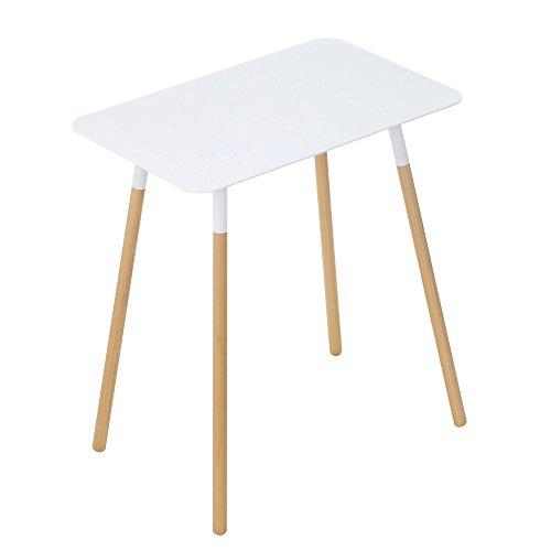 Yamazaki Side Table, Steel, White, One Size