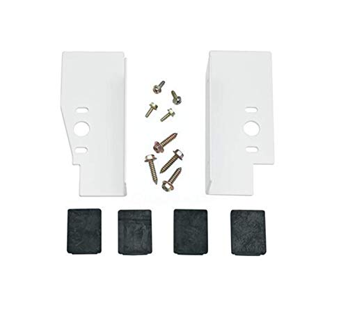 """Lifetime Appliance WE25X10028, GEFLSTACK Stacking Kit Compatible with GE Washer/Dryer Laundry 27"""" Front Load"""