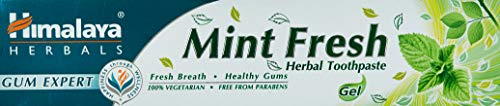 Himalaya Herbals Mint Fresh Herbal Toothpaste Gum Expert Range for Healthy, Protected Gums and Fresh Breath, 75 ml