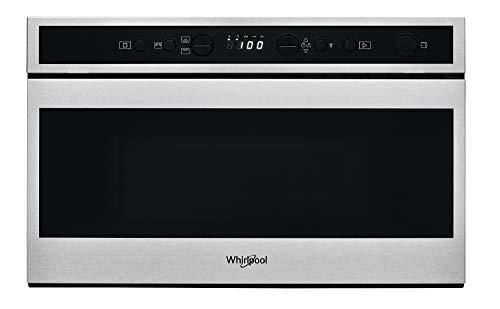 Whirlpool W6 MN840 Incasso Microonde con grill 22 L 750 W Nero, Acciaio inossidabile