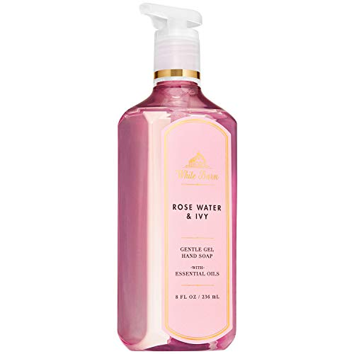 Bath and Body Works ROSE WATER & IVY Gentle Gel Hand Soap 8 Fluid Ounce