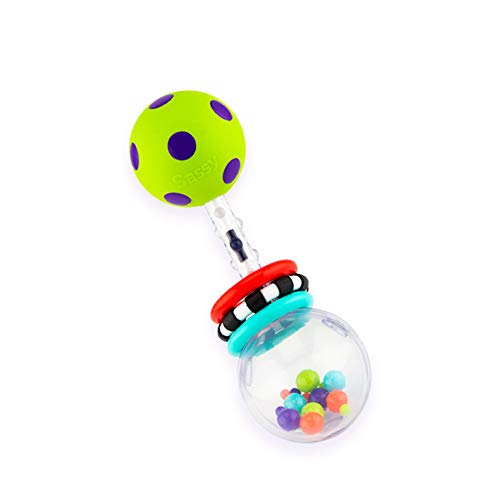 Why Choose Sassy Spin Shine Rattle Developmental Toy (Colors May Vary)