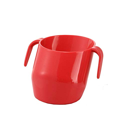 NO BAND Baby Oblique Mouth Cup Auslaufsichere Infant Learning Trinkbecher Tumble Resistant Kids Training Fütterungsbecher-Style4