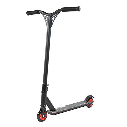 Patinete para niños con 2 ruedas, marco de aluminio, portátil, estilo libre, 360 grados, para niños