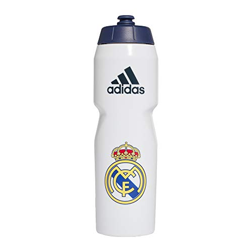 adidas Real Bottle Botella, Adultos Unisex, Blanco/AZUOSC (Blanco), Talla Única