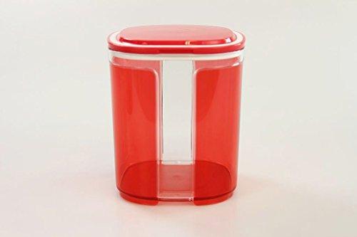 TUPPERWARE Skyline 1,5 L rot transparent Vorratsdose Trockenvorrat Vorrat Dose