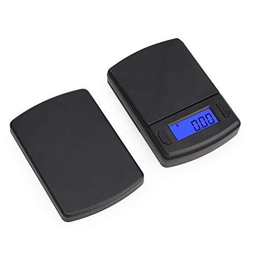 Mini báscula de precisión 100g / 200g / 500g 0.01/0.1g Báscula de bolsillo digital para joyería de oro Peso en gramo Balance Básculas electrónicas LCD 100g 0.01g