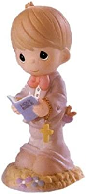 Precious Moments This Day Has Been Made in Heaven First Communion Boy Figurine (679852)