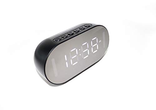 Emerson Dual Alarm Clock with Bluetooth Speaker