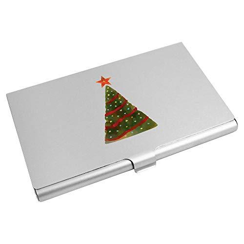 Azeeda 'Weihnachtsbaum' Visitenkarten-etui (CH00018867)
