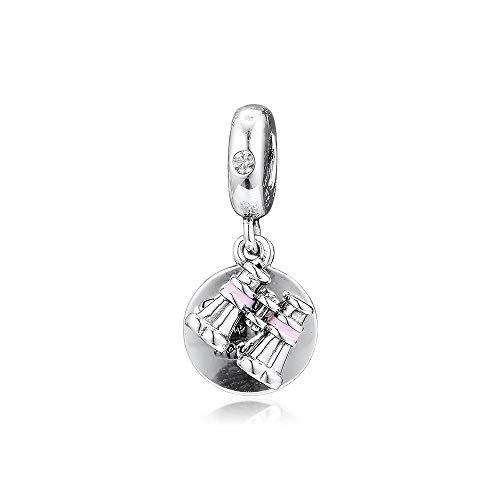 XIYANG DIY Passt Für Original Pandora Armbänder 925 Sterling Silber Fit Pandora Charms Armband Herz Fernglas Dangle Charm Perlen Frauen Mode Schmuckherstellung