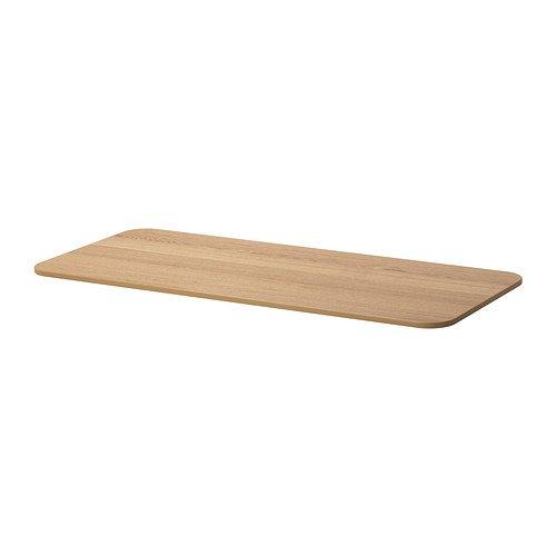 Ikea BEKANT - blat stołu, fornir dębowy - 140 x 60 cm