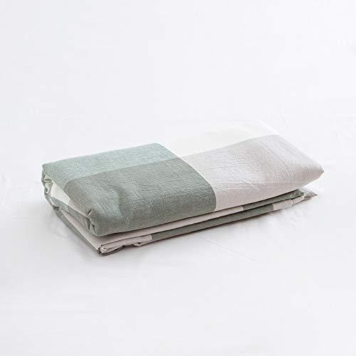 IKITOBI Sábana encimera de tela suave de fácil cuidado, resistente a las arrugas, encogimiento y a la decoloración, sábana de 160 x 230 cm