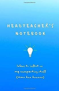 HEADTEACHER NOTEBOOK