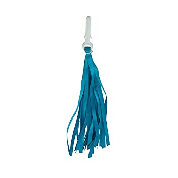 Fenix Cloth Streamers Pair Bicycle Grips Tassel  Blue