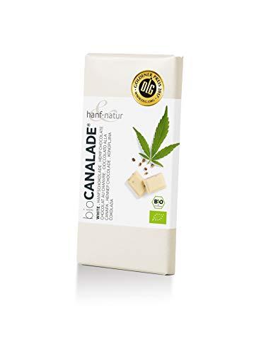 Hanf & Natur - Canalade® White - Weiße Hanfschokolade - 100g