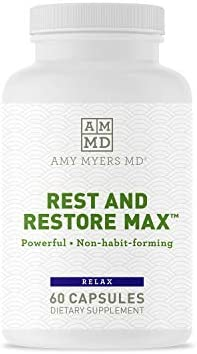Rest and Restore Max by Dr Amy Myers for Restful Sleep Supports Deep Relaxation A Healthy Night product image