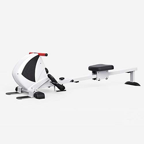 LK-HOME Máquina De Remo Plegable,Remo Indoor para El Hogar,Máquina De Remo Magnético 8 Resistencia Ajustable para Ejercicios Aeróbicos Pérdida De Peso