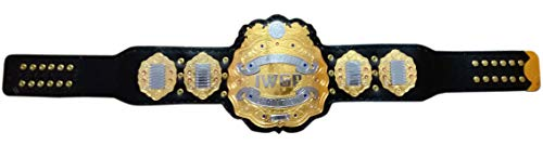 Grid Era Sports IWGP Heavyweight Championship Replica Belt Gold Plated Leather Strap